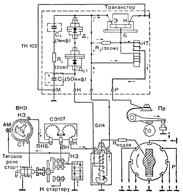 Схема для ваз 21074i