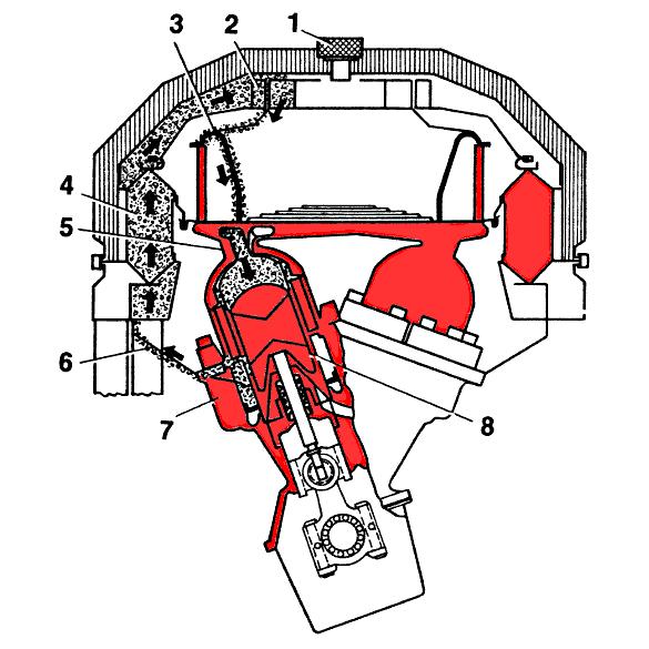 Схема двигателя для опытного