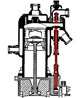 Клапан выпускной схема